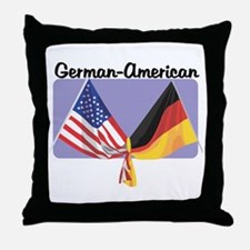 German American Throw Pillow