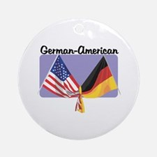 German American Ornament (Round)