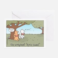 Spitz Breed Greeting Card