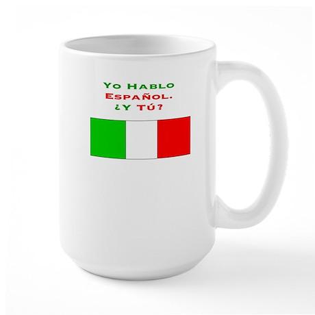 YoHablo/Large Mug