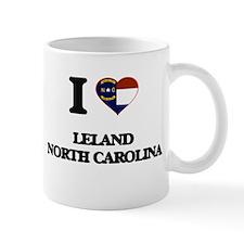 I love Leland North Carolina Mugs