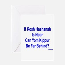 Rosh Hashanah Is Near Greeting Card