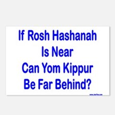 Rosh Hashanah Is Near Postcards (Package of 8)