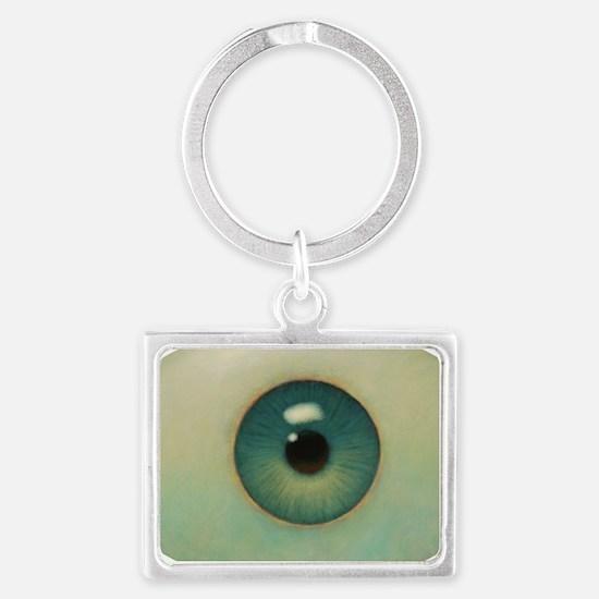 Cute Eyes Landscape Keychain