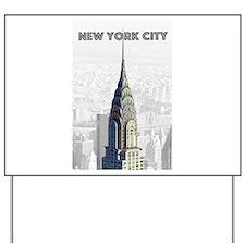 Cute Manhattan Yard Sign