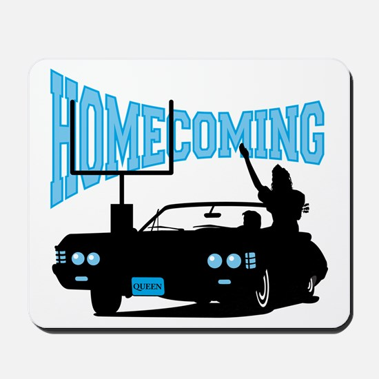 Homecoming Queen Blue Logo Mousepad