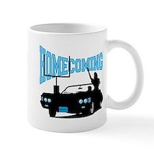 Homecoming Queen Blue Logo Mug