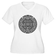 mayan calender dark T-Shirt