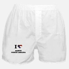 I love Marvin North Carolina Boxer Shorts