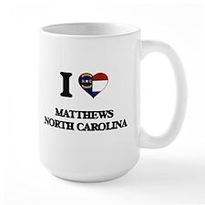 I love Matthews North Carolina Mugs