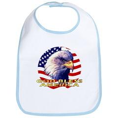 Gob Bless America Patriotic Bib