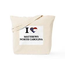 I love Matthews North Carolina Tote Bag