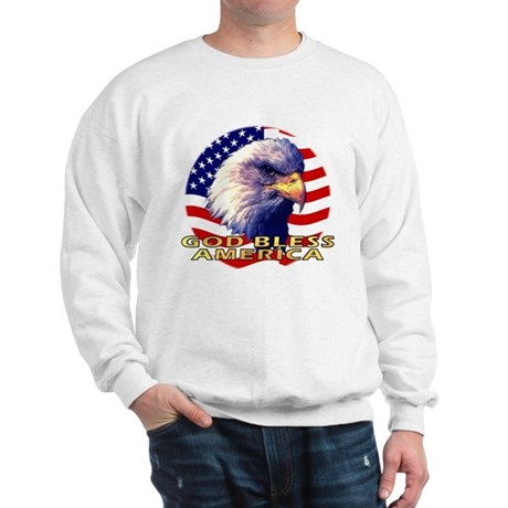 Gob Bless America Patriotic Sweatshirt