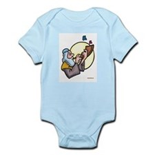 Rosh Hashanah Shofar Sounds Infant Bodysuit