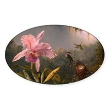 Cattleya Orchid and Hummingbirds Decal