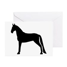 Tennessee Walking Horse Greeting Cards (Pk of 10)