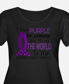 Means World To Me 1 Alzheimer's Disease Shirts Plu