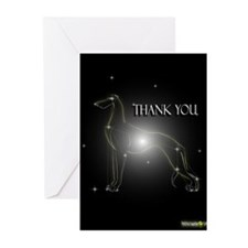Greyhound Greeting Cards E (Pk of 10)