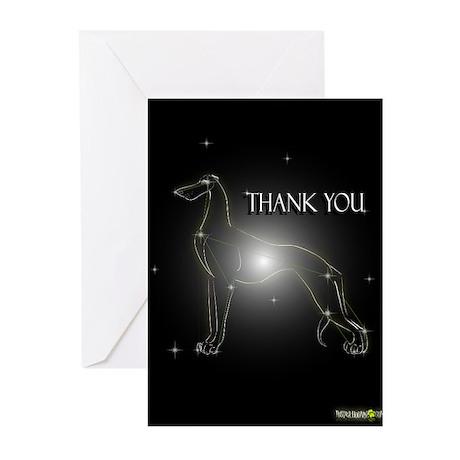 Greyhound Greeting Cards E (Pk of 10)
