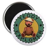 Teddy Bear Explorer Magnet