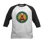 Teddy Bear Explorer Kids Baseball Jersey