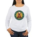 Teddy Bear Explorer Women's Long Sleeve T-Shirt