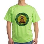 Teddy Bear Explorer Green T-Shirt