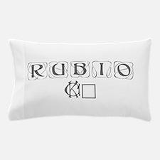 Rubio 16-Kon gray 460 Pillow Case