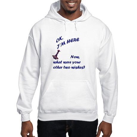 3 Wishes Hooded Sweatshirt