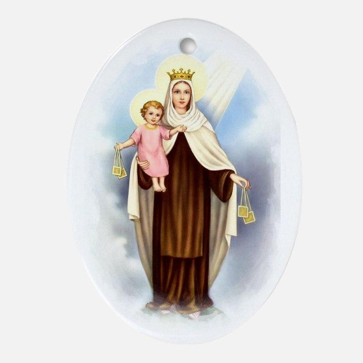 Mt Carmel Ornament (Oval)