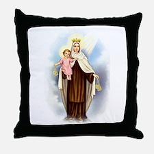 Mt Carmel Throw Pillow