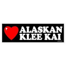ALASKAN KLEE KAI Bumper Bumper Sticker