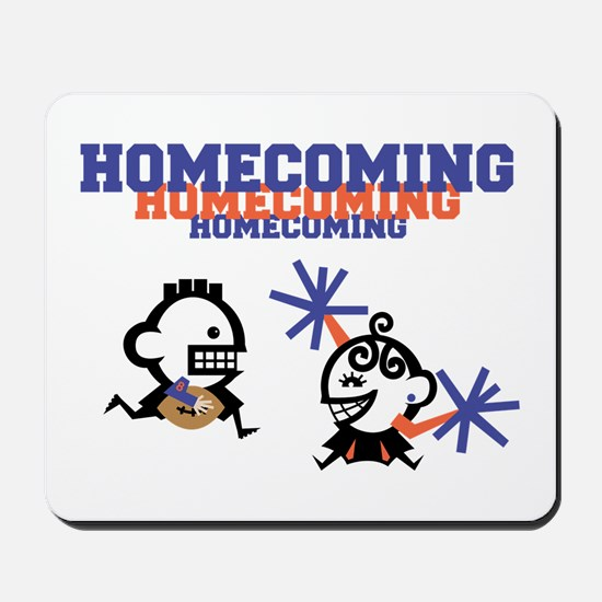 Homecoming Couple Mousepad