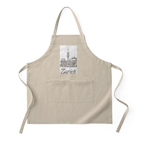 Vintage Zurich BBQ Apron