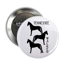 """Tennessee Walkers Trio 2.25"""" Button (10 pack)"""