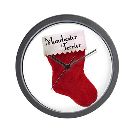 Manchester Stocking Wall Clock