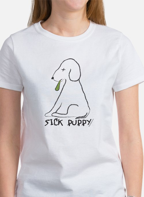 Sick Puppy Women's T-Shirt