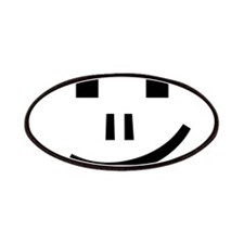 Keyboard Computer Symbol Smile Patch