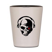Terminator Dj Skull Dubstep Cyber Punk Shot Glass