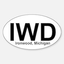 IWD - Oval Decal