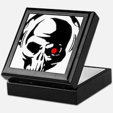 Terminator Dj Skull Dubstep Cyber Pun Keepsake Box