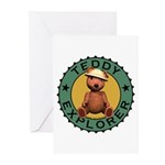 Teddy Bear Explorer Greeting Cards (Pk of 20)