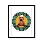 Teddy Bear Explorer Framed Panel Print