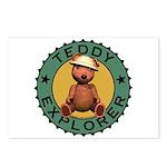 Teddy Bear Explorer Postcards (Package of 8)