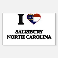 I love Salisbury North Carolina Decal