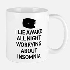 Worrying About Insomnia Mug