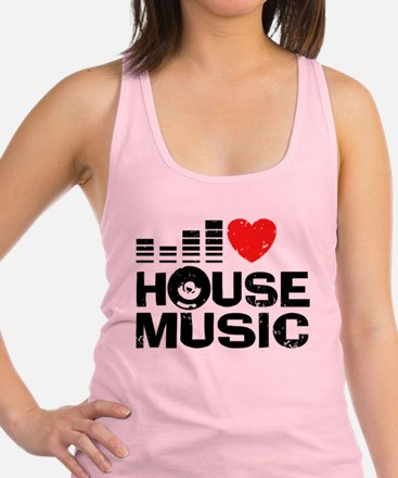 I Love House Music Tank Top