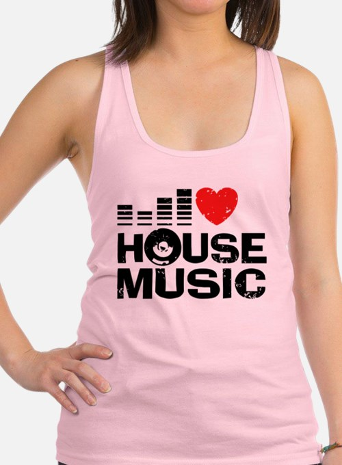 House music tank tops house music tanks for men women for Top 50 house songs