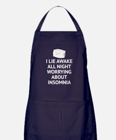 Worrying About Insomnia Apron (dark)