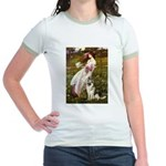 Windflowers / G-Shep Jr. Ringer T-Shirt